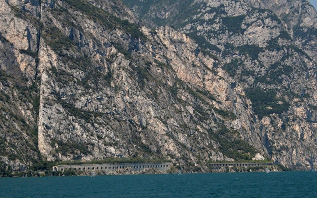 The famous tunnels of Lake Garda Photo: John Burke/Flickr