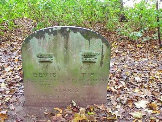 dog grave