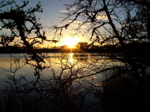 sunrise over the loch - Ailish Sinclair, author