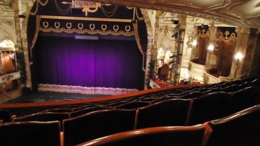 The Coliseum theatre, London