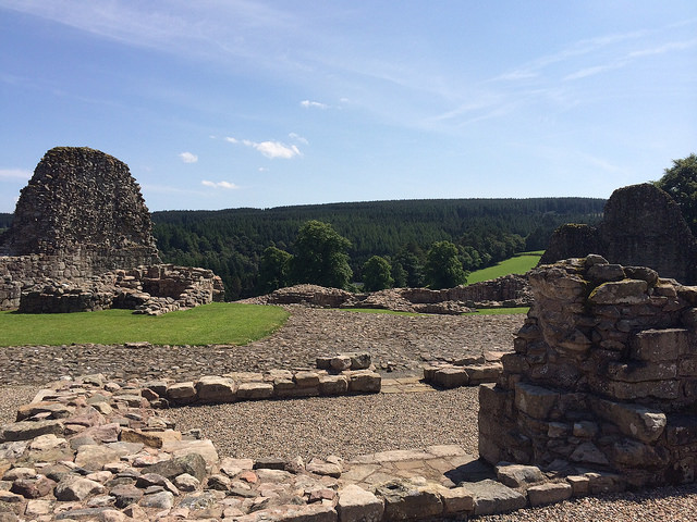 more serendipity at Kildrummy Castle - Ailish Sinclair, author
