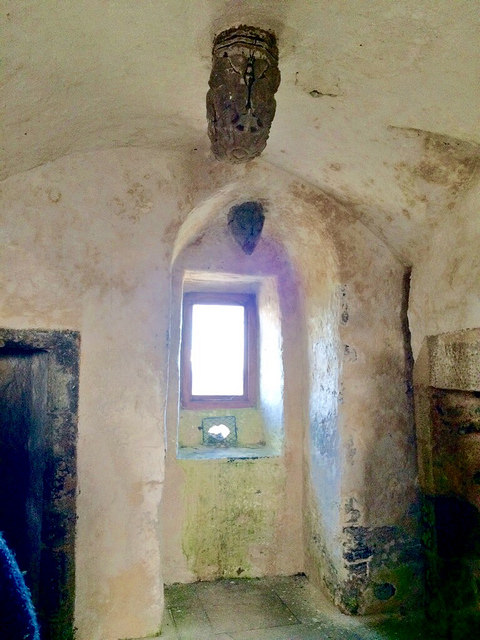wine tower interior