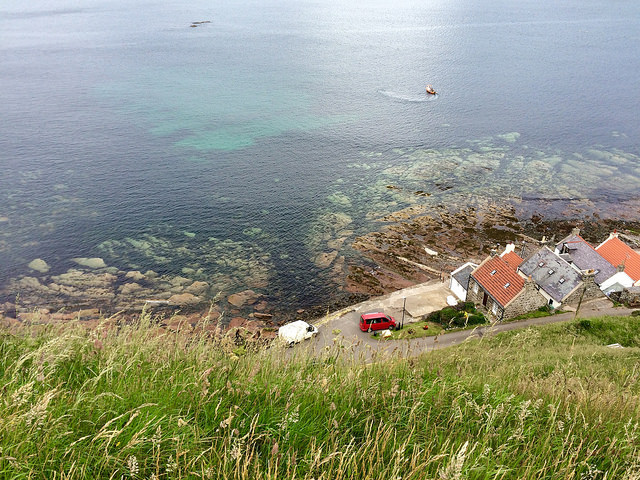 Crovie and coast