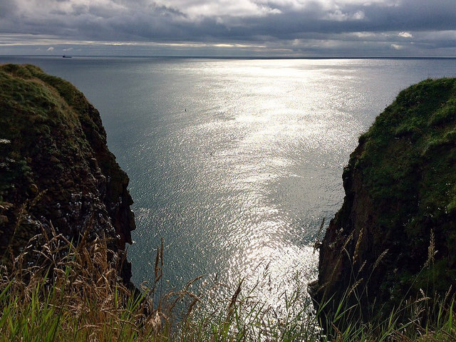 The coast at the Bullers of Buchan