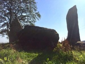 The recumbent of Tyrebagger Stone Circle