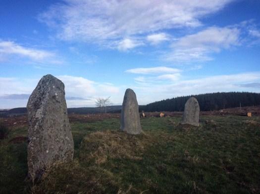 Three prehistoric stones