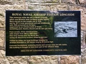 Memorial plaque in Lenabo Woods