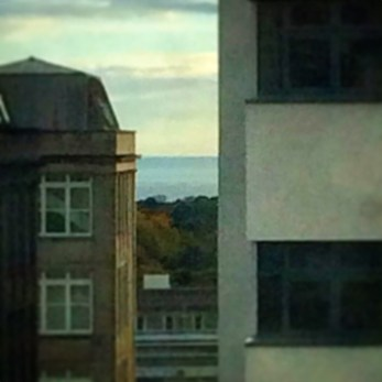 sea view from the hospital window