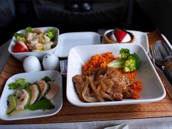 機内食画像 7