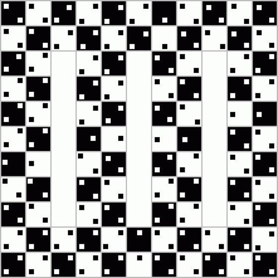 あなたの目を錯覚させる錯視画像