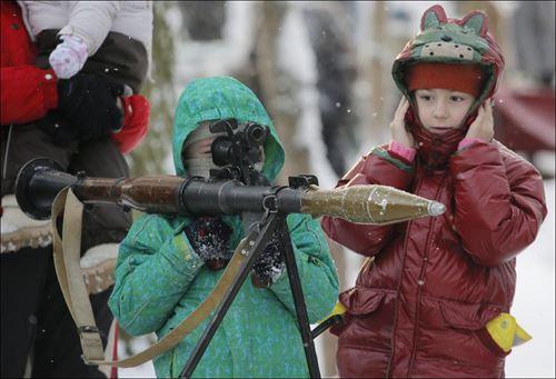 常識をくつ返すロシアの写真