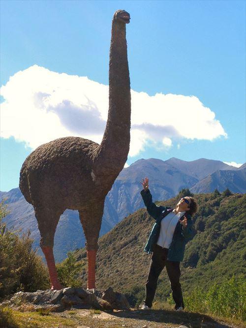 ケタ違いの大きさ。史上最大の鳥類(古代鳥)