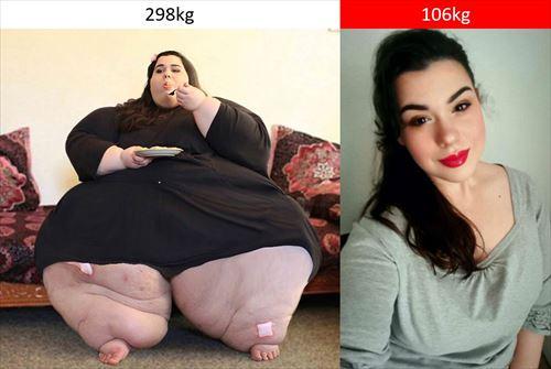 あまりにもすごい。ダイエットの劇的変化5人
