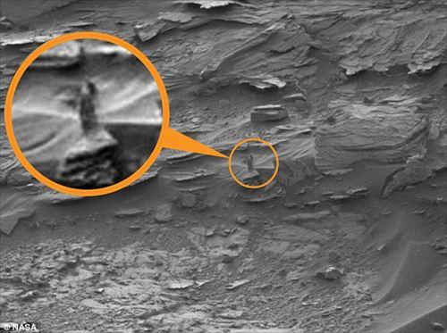 火星で見つかった奇妙な物体11種