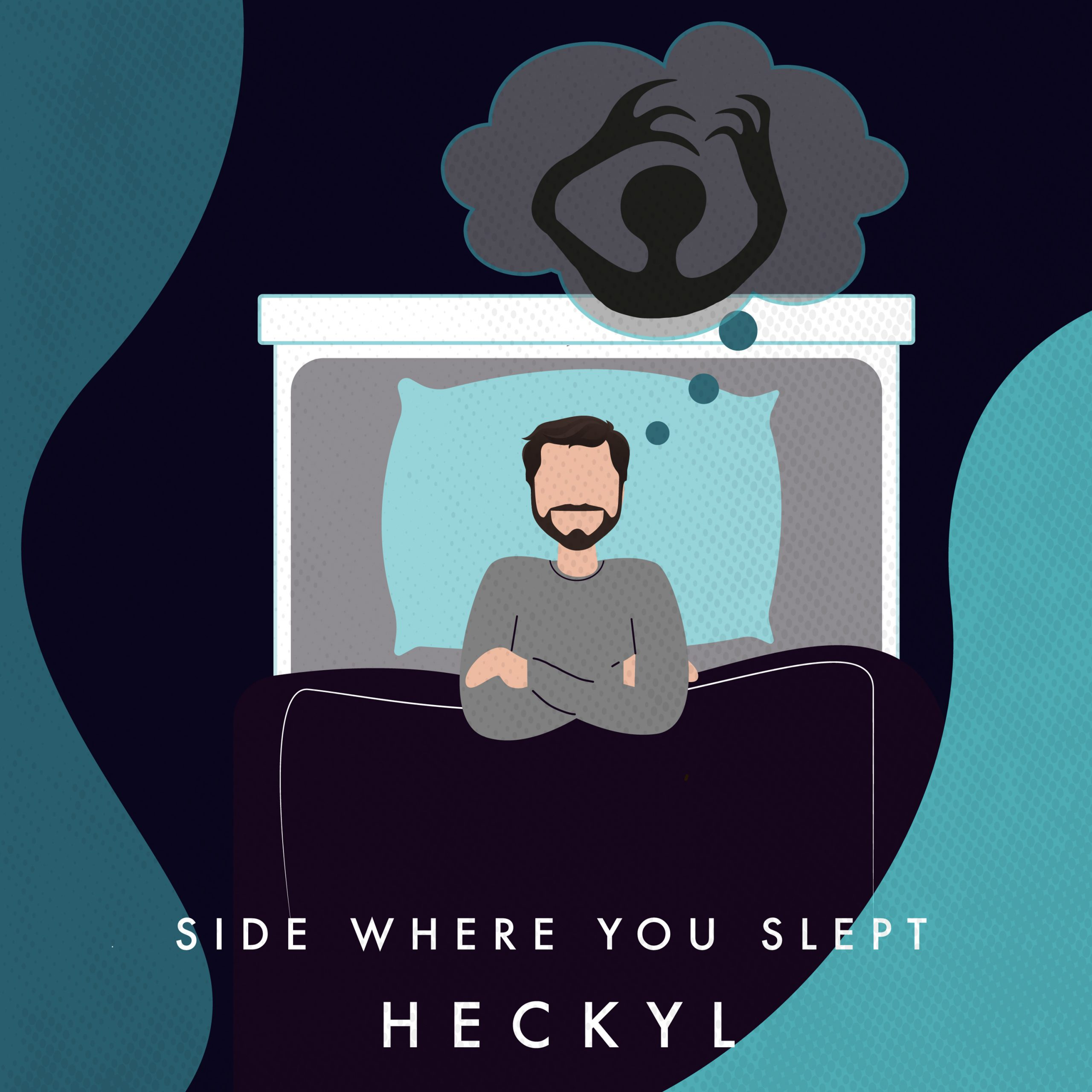 """Read more about the article UK Synthpop Artist Heckyl Talks About """"Side Where You Slept"""""""