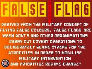 false flag alert