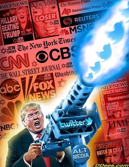Tweet wars Trump