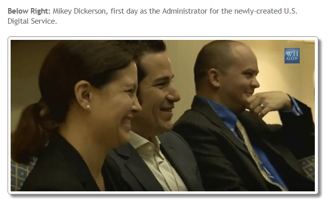 Dickerson and US Digital Service