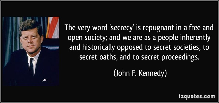 Kennedy Secret Societies