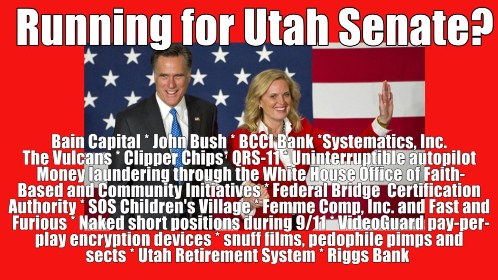 Mitt and Ann Running for Senate 2
