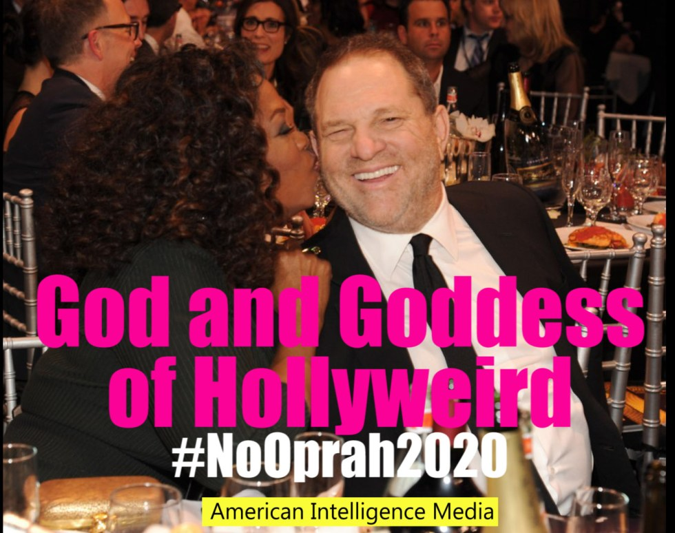 Oprah Weinstein gog goddess logo