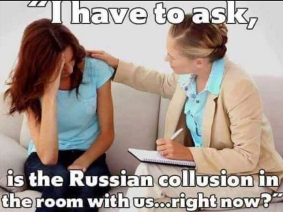 Russia collusion session