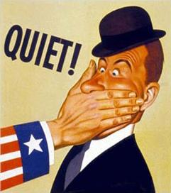 silence free speech 2
