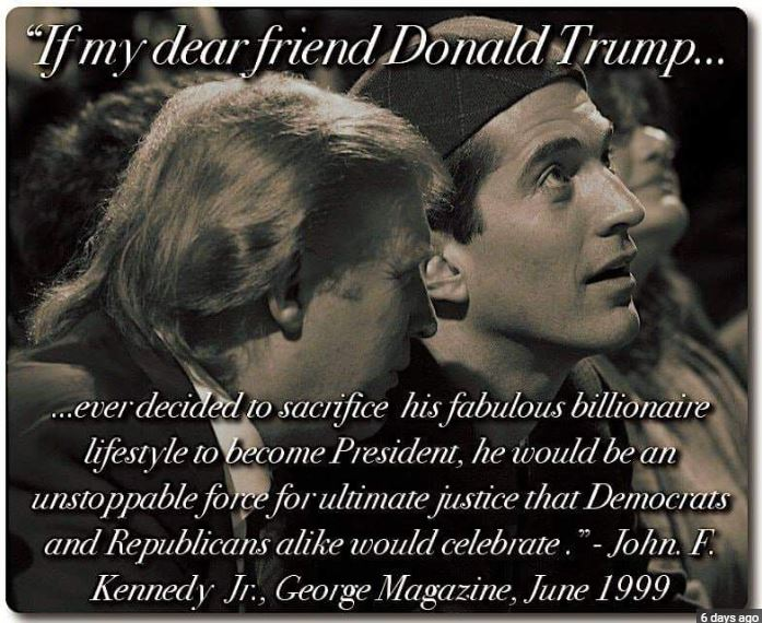 Trump and Kennedy