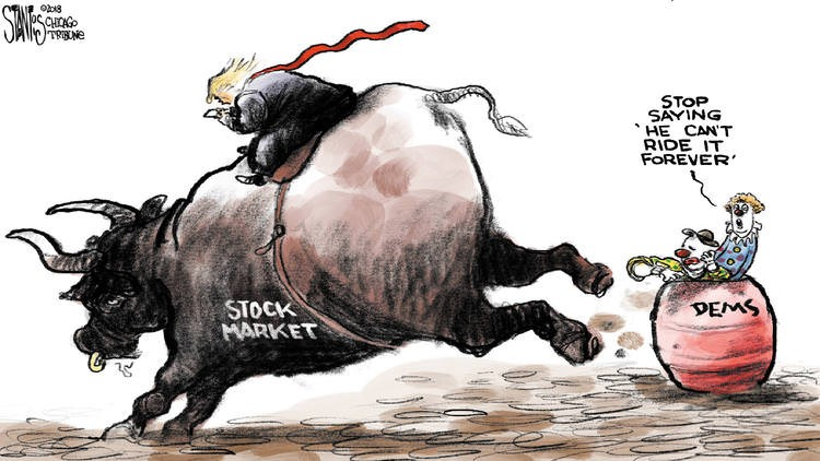 trump stock market