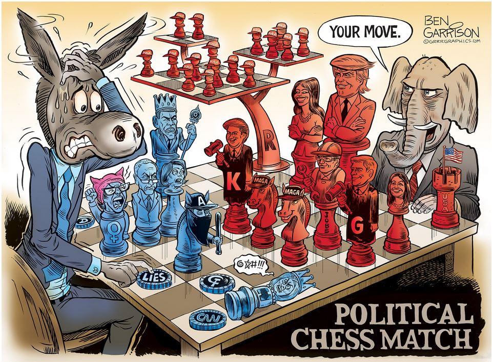 Garrison polictical chess match