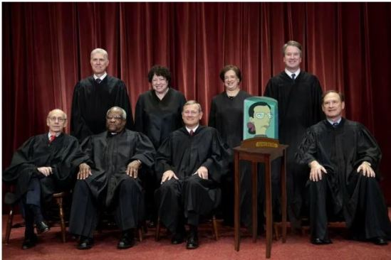 supreme court with ruth missing