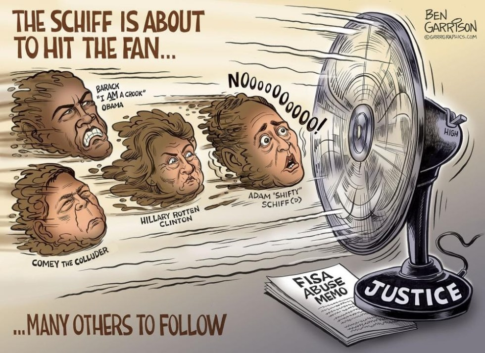 schiff hits the fan