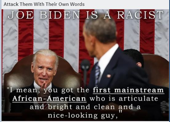 biden is racist