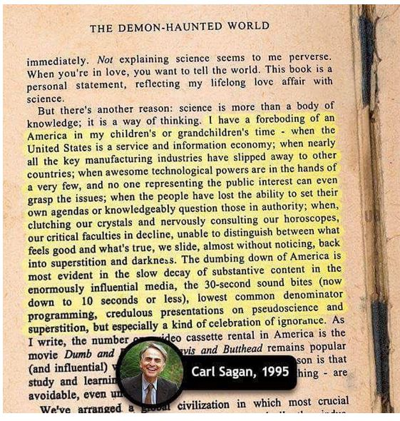 carl sagan book