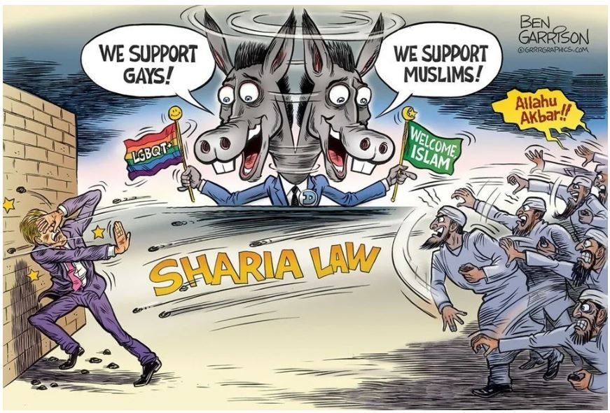 garrison sharia law