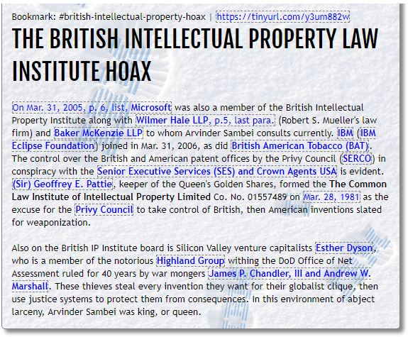 british intellectual law