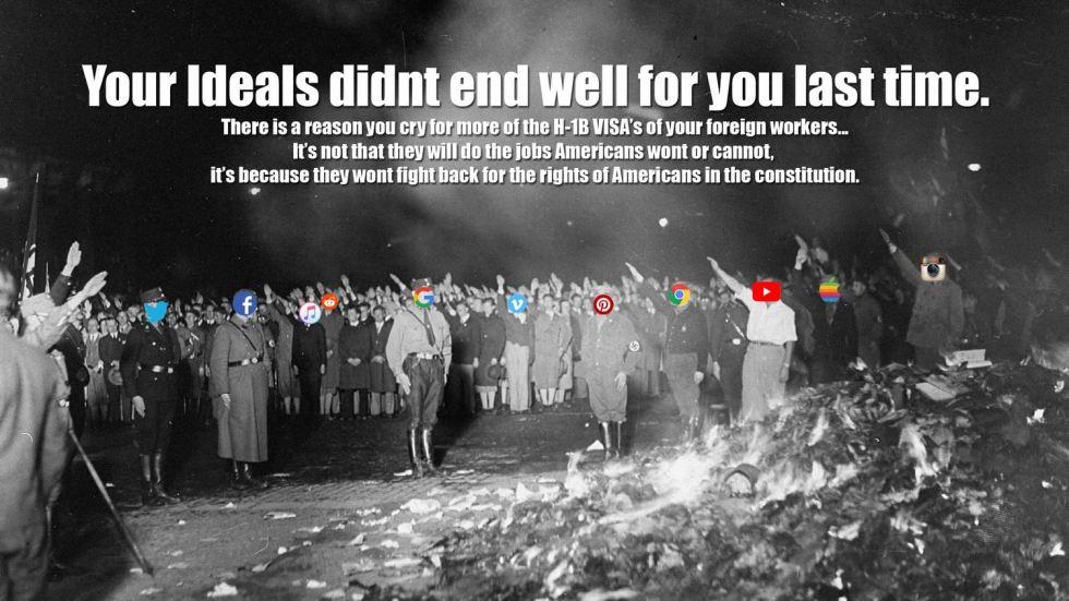 nazi no free speech.JPG