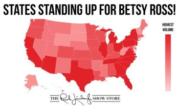 states for betsy ross