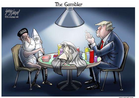 trump iran gambler