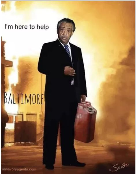 al sharpton baltimore