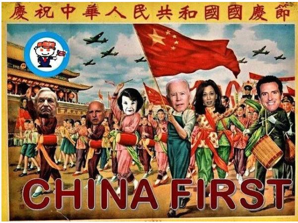china first biden feinstein harris democrats