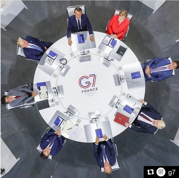 DONALD TRUMP G7 ROUNTABLE