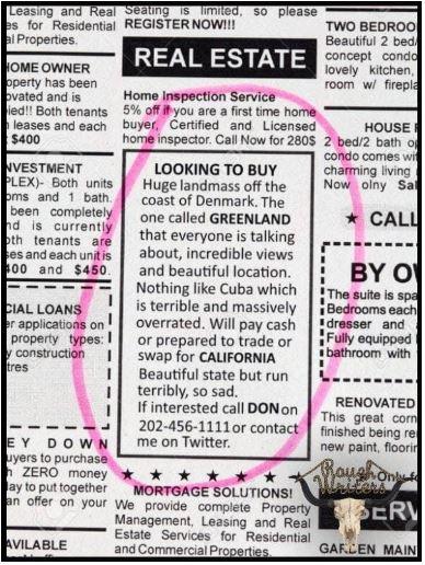 greenland ad
