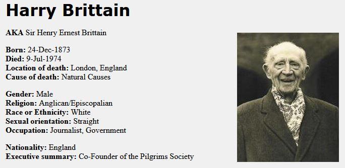 harry brittain