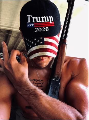 trump 2020 man