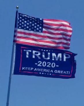 us trump flags