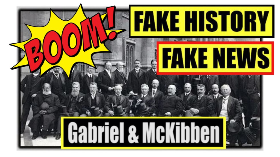 fake history fake news thumbnail