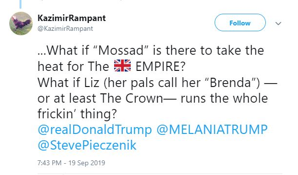 mossad empire