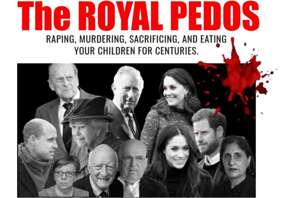 royal pedos queen