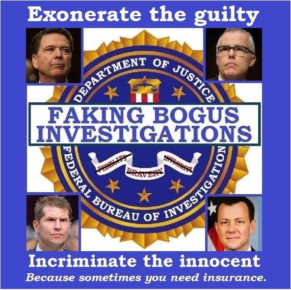 fake investigations strzok mccabe preistap